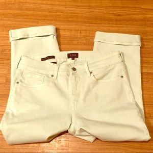 NYDG Cuffed Cropped Jeans - NWOT